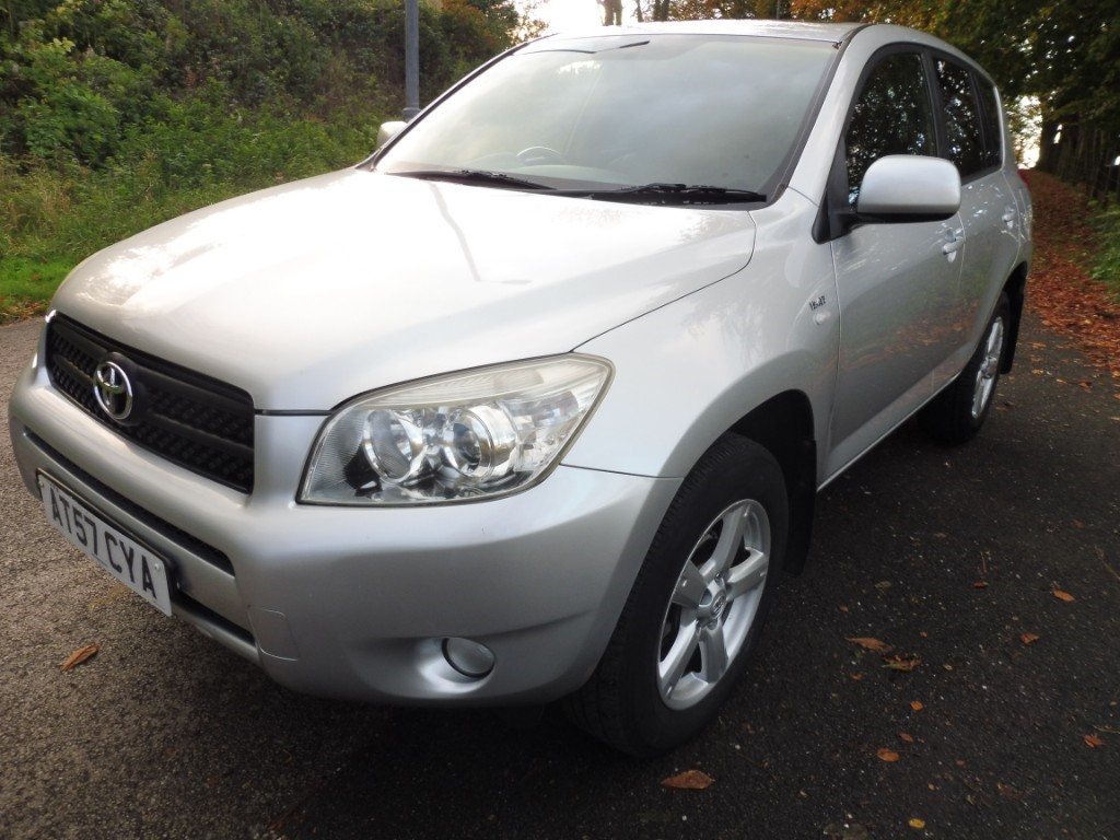 used Toyota RAV4 D-4D XTR in derbyshire