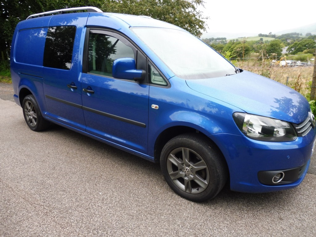 used VW Caddy Maxi C20 TDI KOMBI in derbyshire