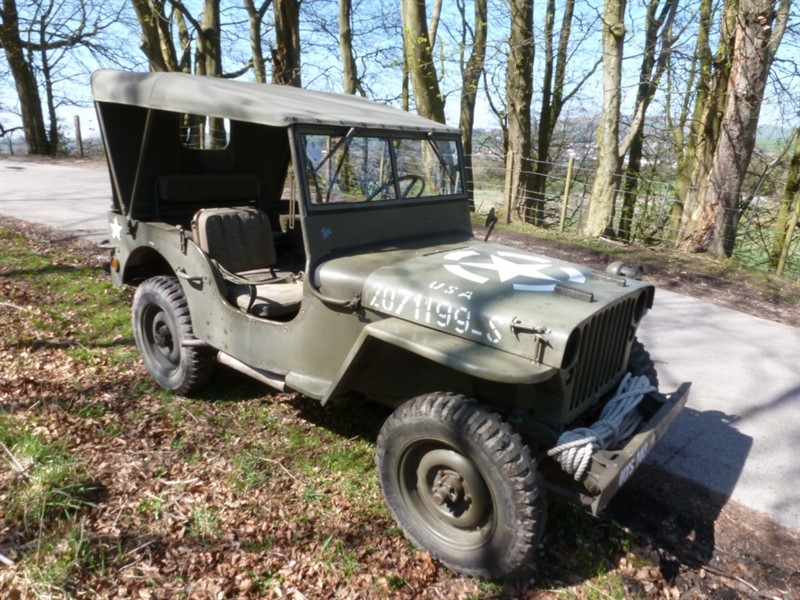 Car of the week - Jeep gpw - Only £15,595
