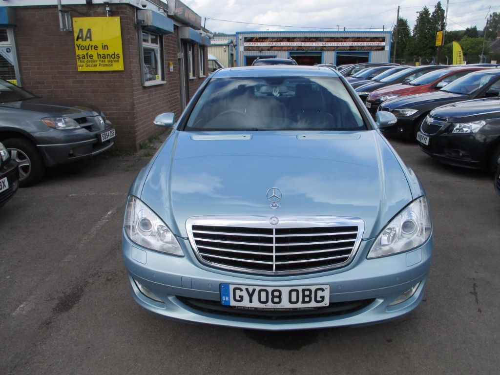 used blue mercedes s320 for sale glamorgan