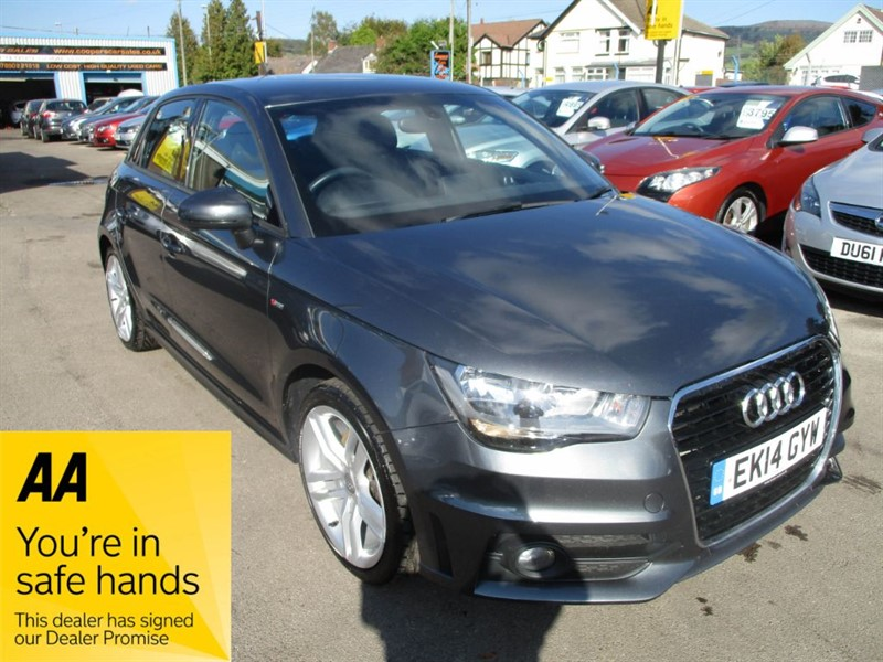 used Audi A1 SPORTBACK TFSI S LINE in gwent