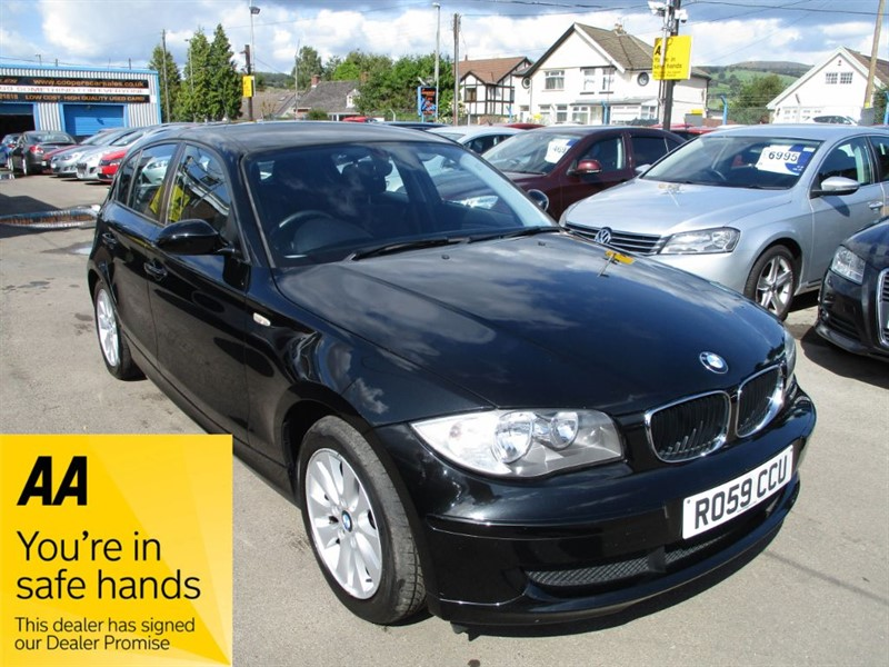 used BMW 118d ES in gwent