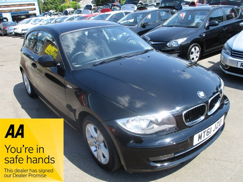 used BMW 118d SE in gwent