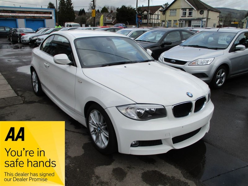 used BMW 120d M SPORT in gwent
