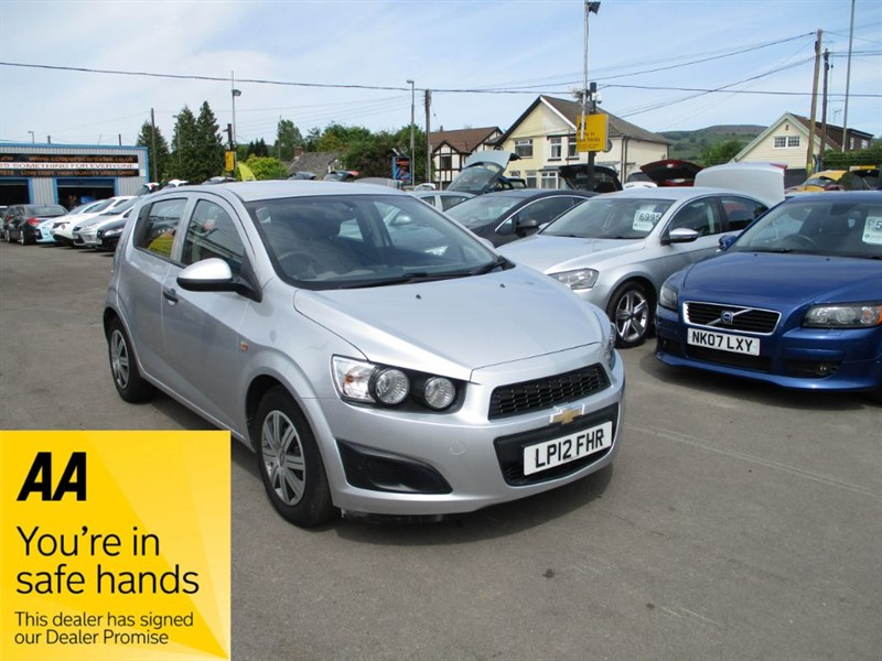 used Chevrolet Aveo LS in gwent