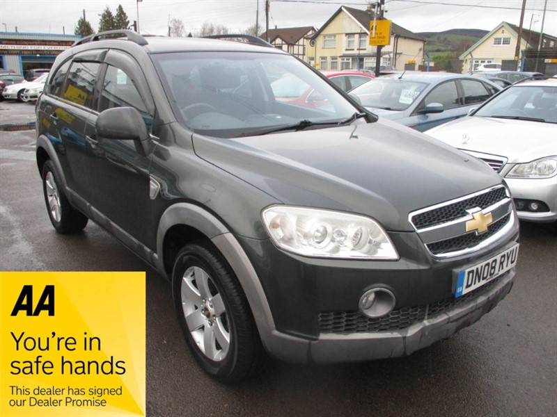 used Chevrolet Captiva LT VCDI in gwent