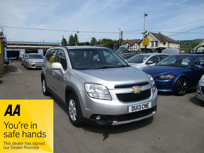 used Chevrolet Orlando LT VCDI in gwent