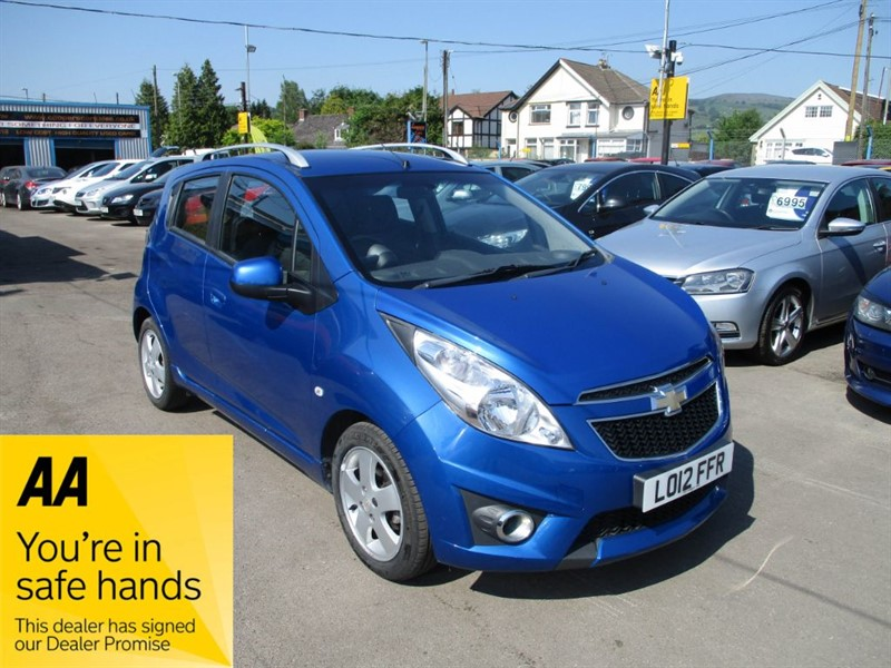 used Chevrolet Spark LT in gwent