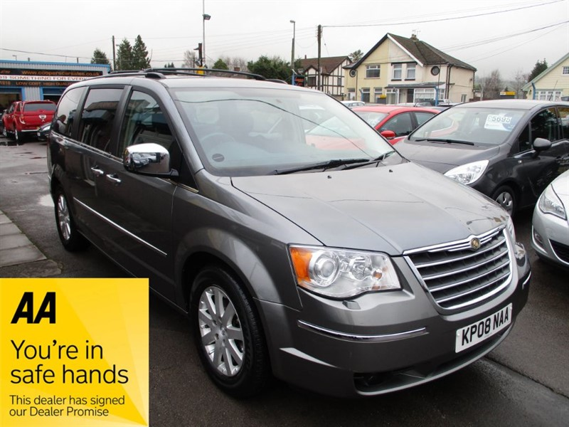 used Chrysler Grand Voyager CRD LIMITED in gwent