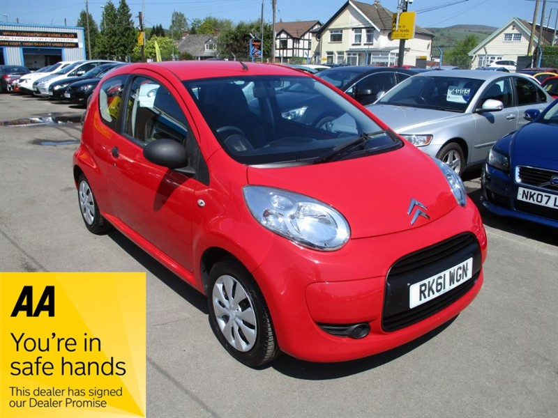 used Citroen C1 VTR in gwent