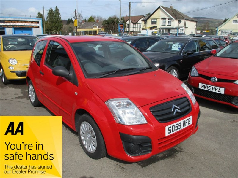 used Citroen C2 VT in gwent