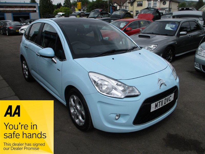used Citroen C3 HDI EXCLUSIVE in gwent