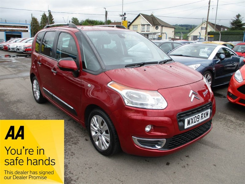 used Citroen C3 Picasso EXCLUSIVE HDI in gwent