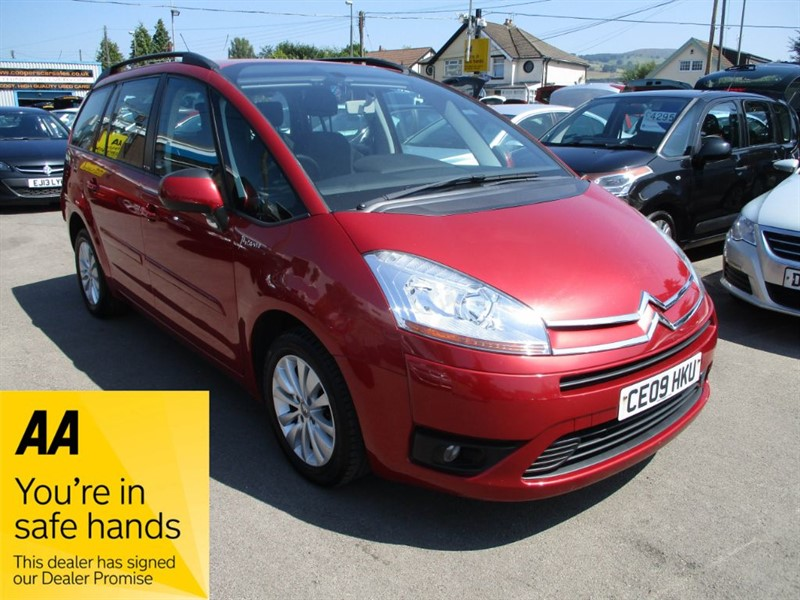 used Citroen C4 GRAND PICASSO VTR PLUS HDI in gwent