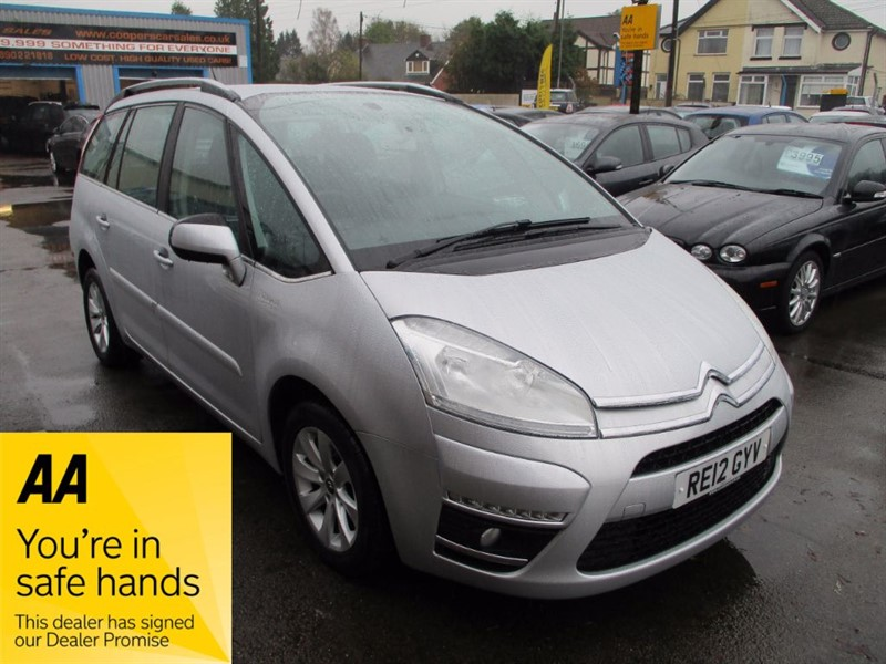 used Citroen C4 Picasso GRAND E-HDI VTR PLUS EGS in gwent