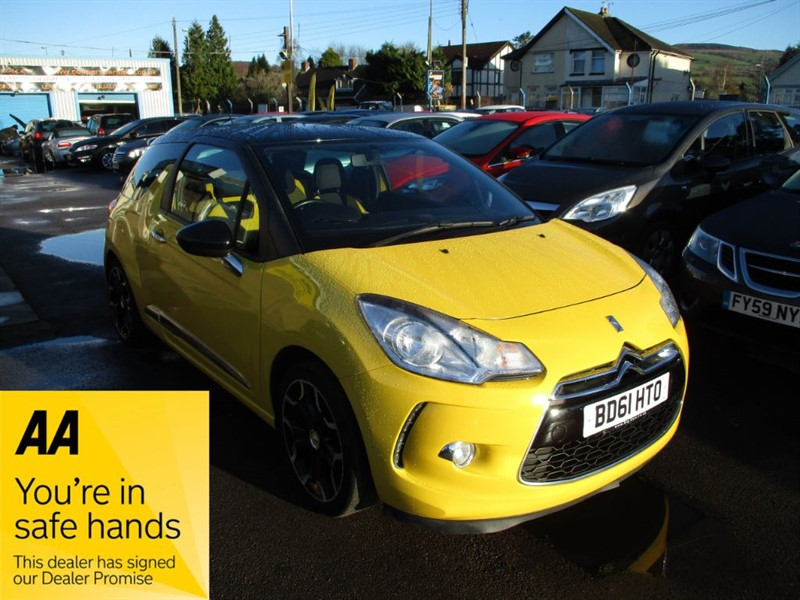 used Citroen DS3 THP DSPORT in gwent