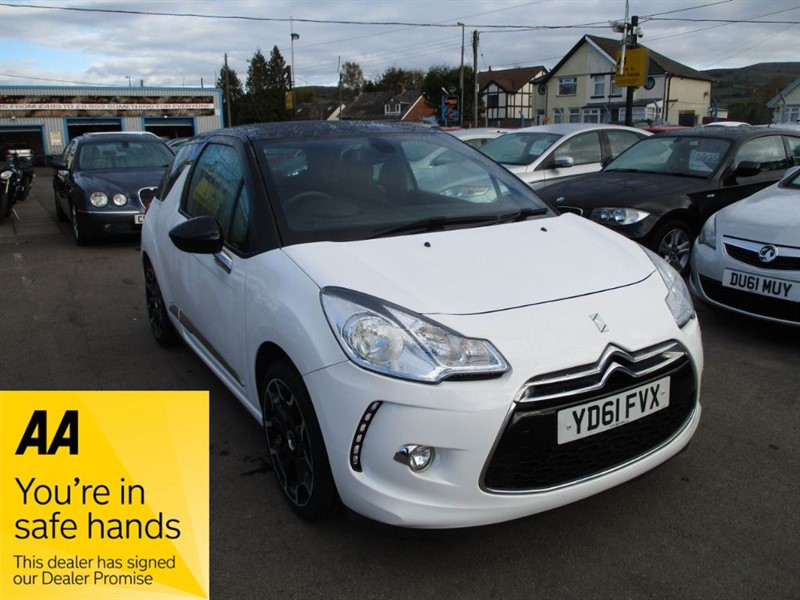 used Citroen DS3 DSTYLE PLUS in gwent