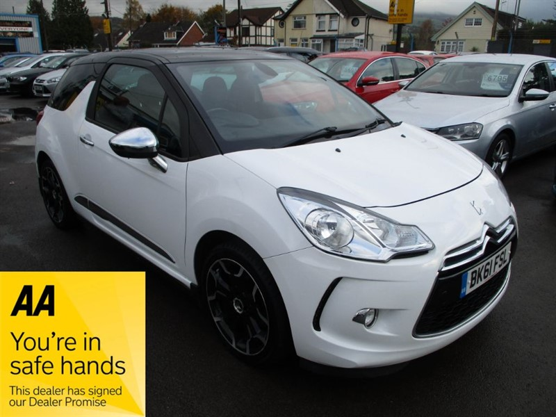 used Citroen DS3 DSPORT in gwent