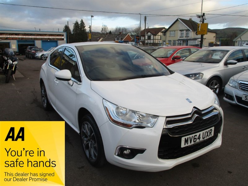 used Citroen DS4 E-HDI AIRDREAM DSTYLE ETG6 in gwent