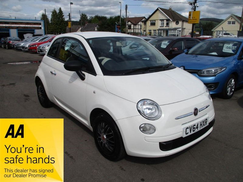 used Fiat 500 POP in gwent