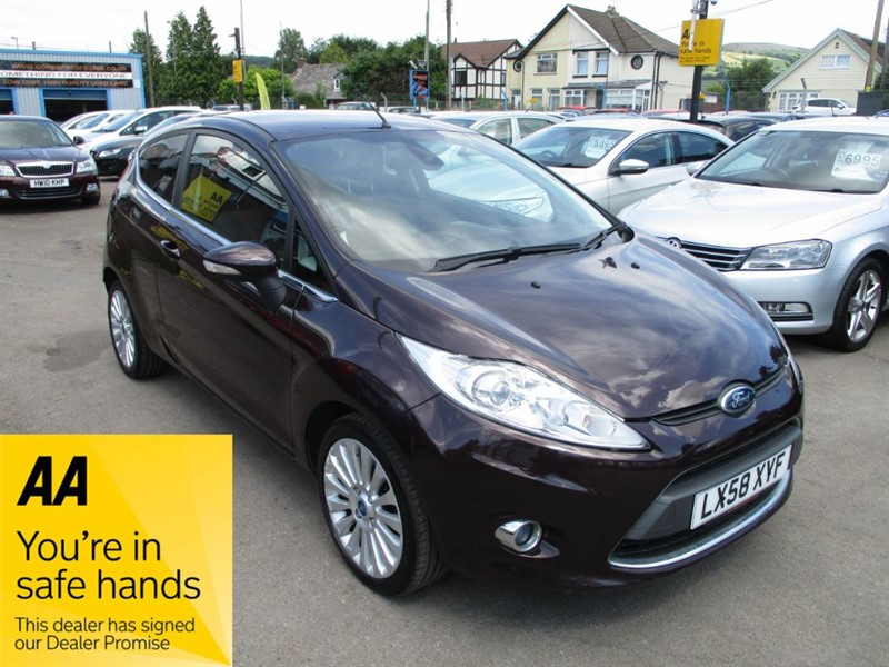 used Ford Fiesta TITANIUM TDCI in gwent