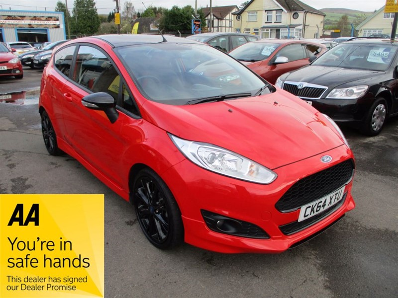 used Ford Fiesta ZETEC S RED EDITION in gwent