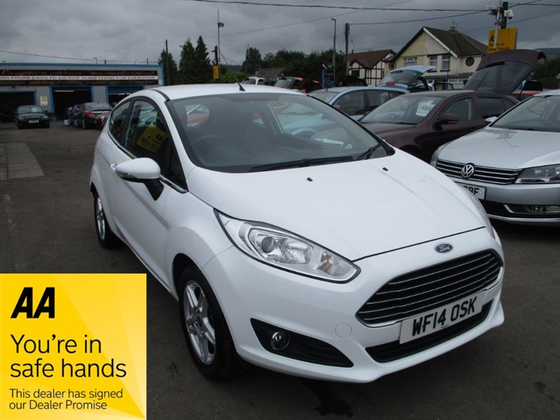 used Ford Fiesta ZETEC in gwent