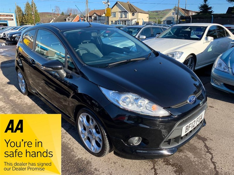 used Ford Fiesta ZETEC S in gwent