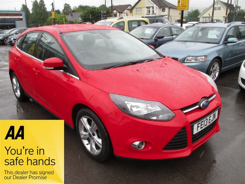 used Ford Focus ZETEC ECONETIC TDCI in gwent