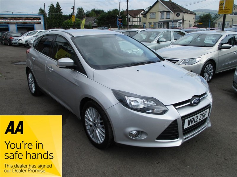 used Ford Focus ZETEC TDCI in gwent