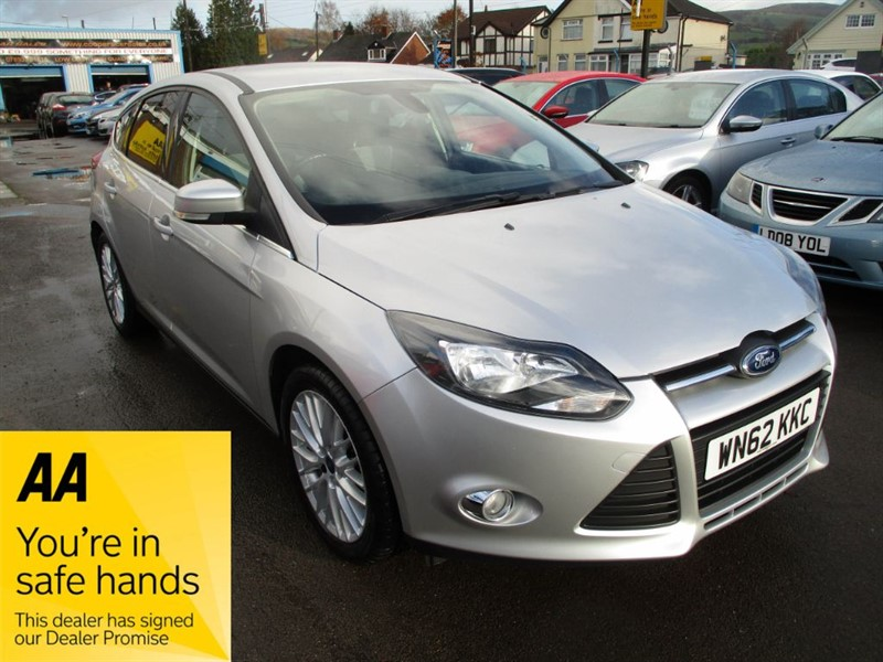 used Ford Focus ZETEC in gwent