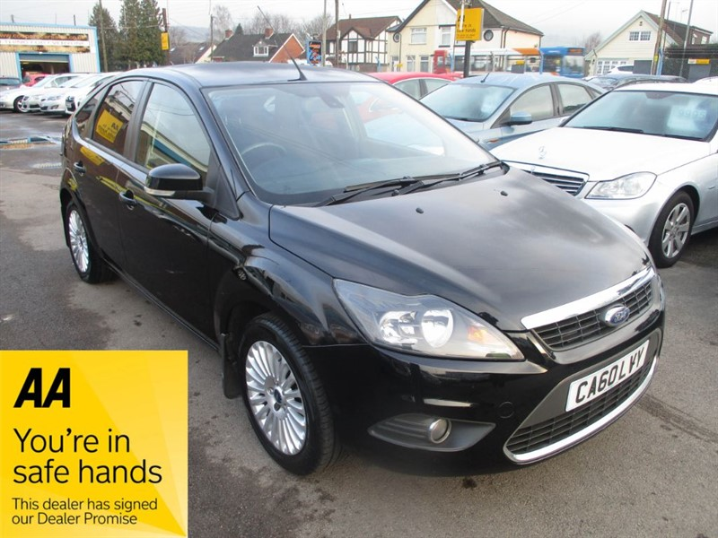 used Ford Focus TITANIUM in gwent
