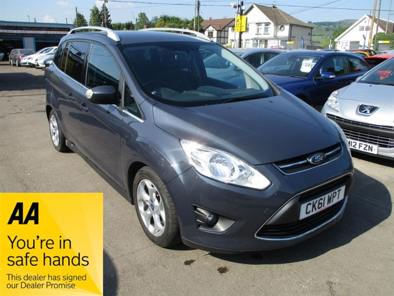 used Ford Grand C-Max ZETEC in gwent