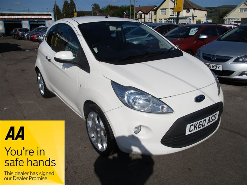 used Ford KA TITANIUM in gwent