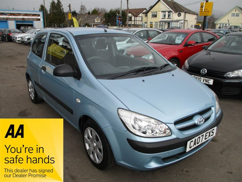 used Hyundai Getz GSI in gwent