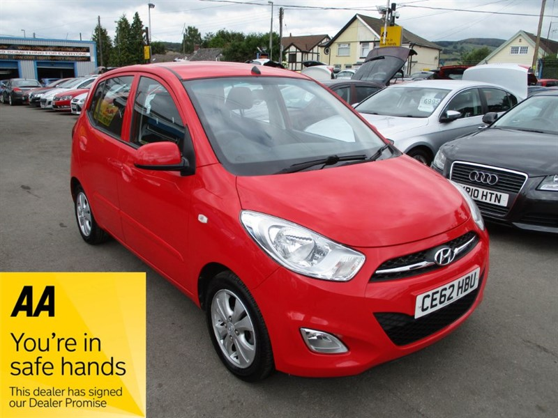 used Hyundai i10 ACTIVE in gwent