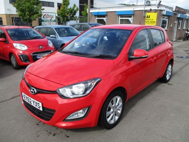 used Hyundai i20 ACTIVE in gwent