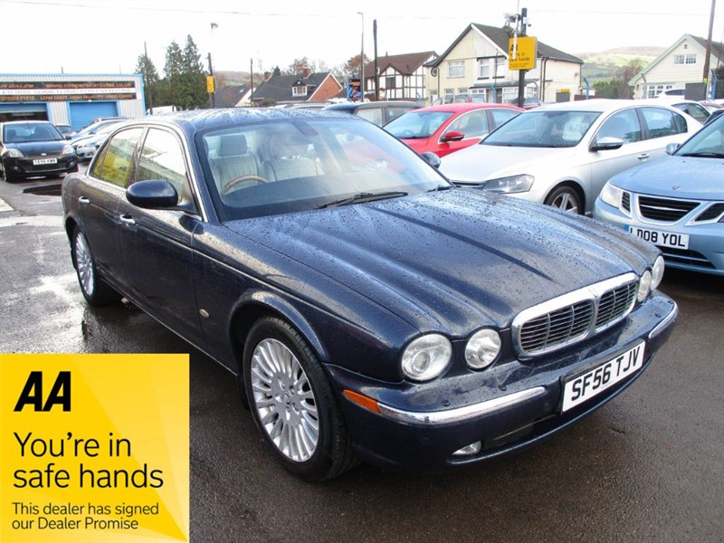 used Jaguar XJ TDVI SOVEREIGN in gwent