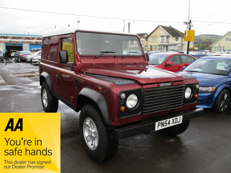 used Land Rover Defender 90 HARD-TOP TD5 in gwent