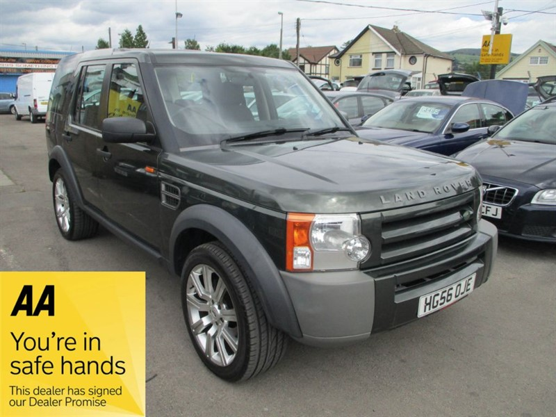 used Land Rover Discovery 3 TDV6 5 SEATS in gwent