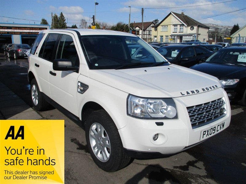 used Land Rover Freelander TD4 S in gwent