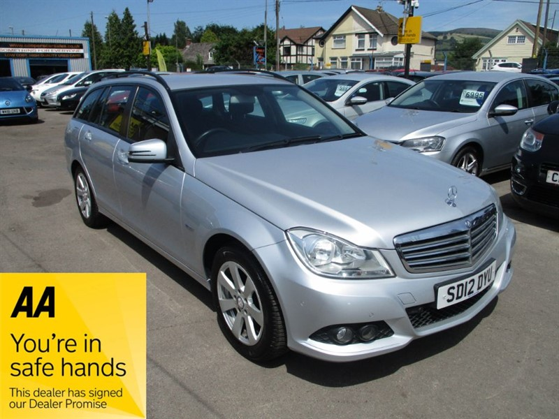 used Mercedes C180 BLUEEFFICIENCY SE in gwent