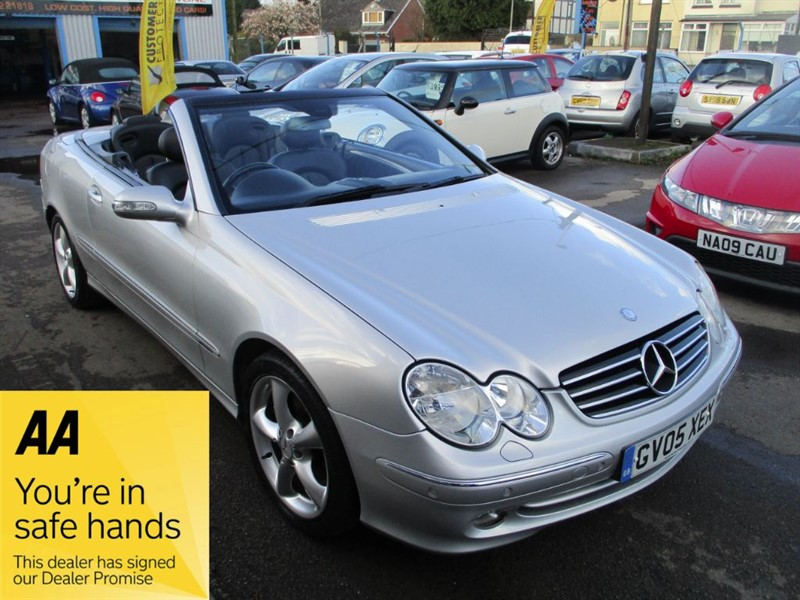 used Mercedes CLK320 CLK CLK320 AVANTGARDE in gwent