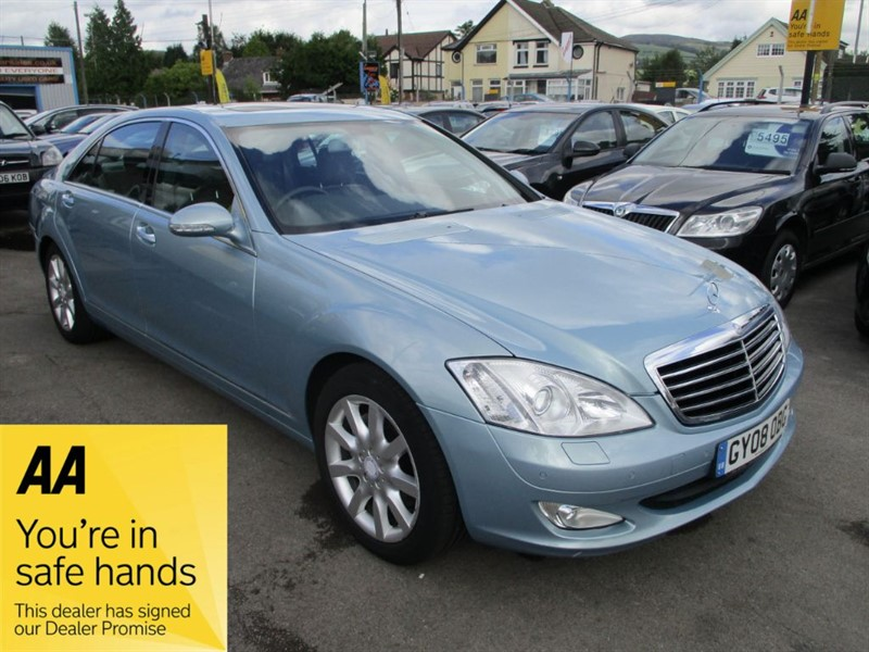 used Mercedes S320 L CDI in gwent