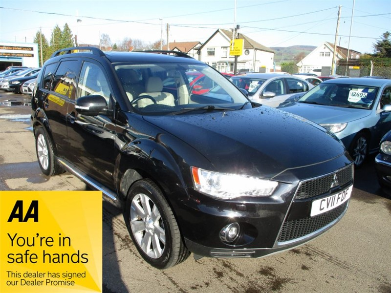used Mitsubishi Outlander DI-D GX 4 in gwent