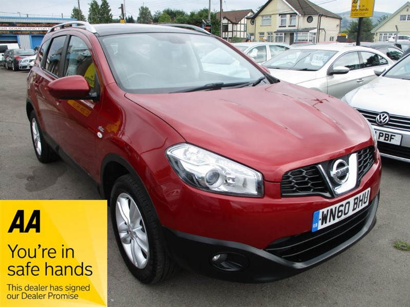 used Nissan Qashqai N-TEC PLUS 2 DCI in gwent