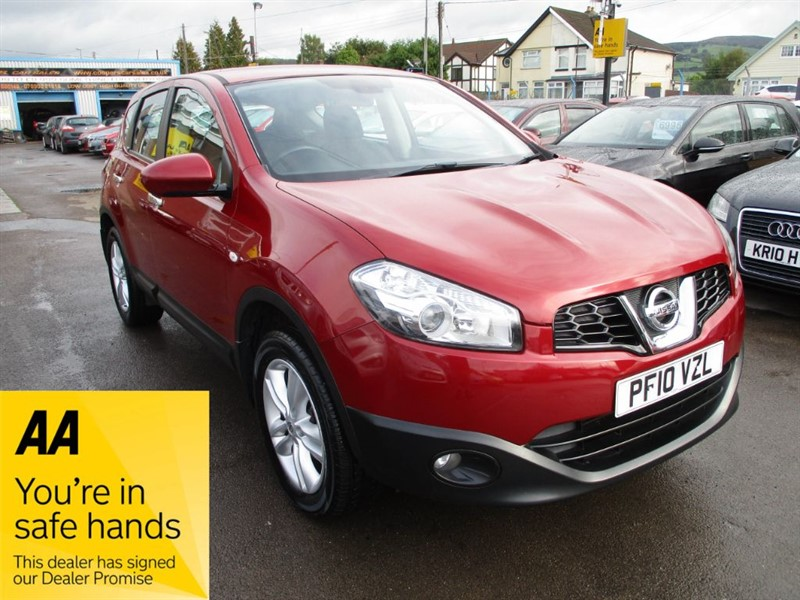 used Nissan Qashqai ACENTA DCI in gwent