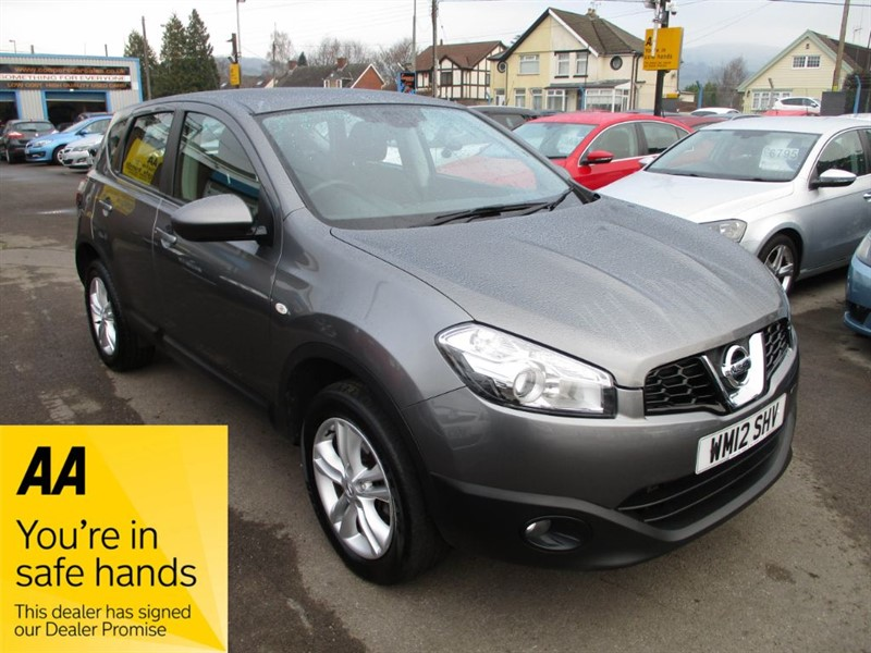 used Nissan Qashqai ACENTA IS DCIS/S in gwent