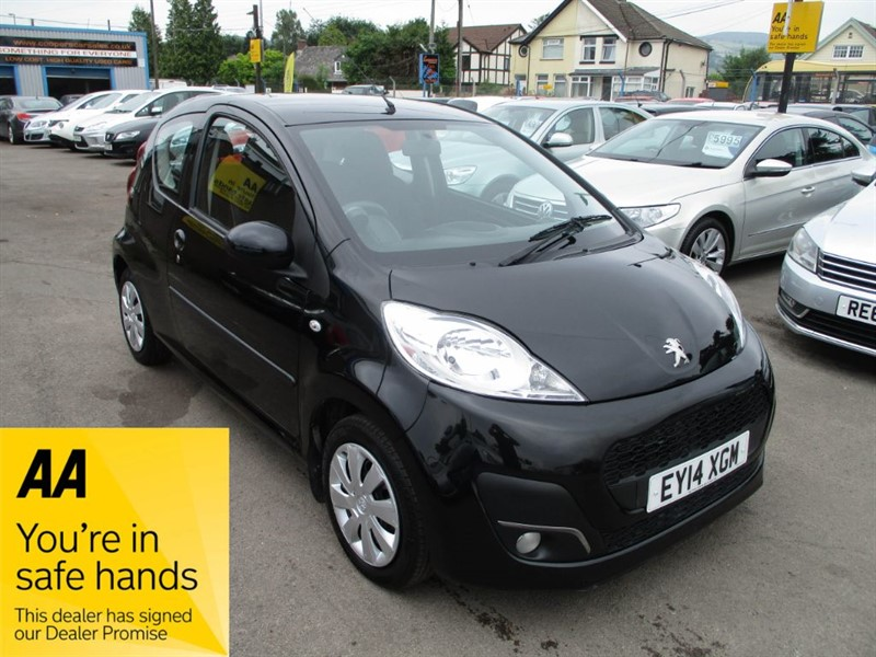 used Peugeot 107 ACTIVE in gwent