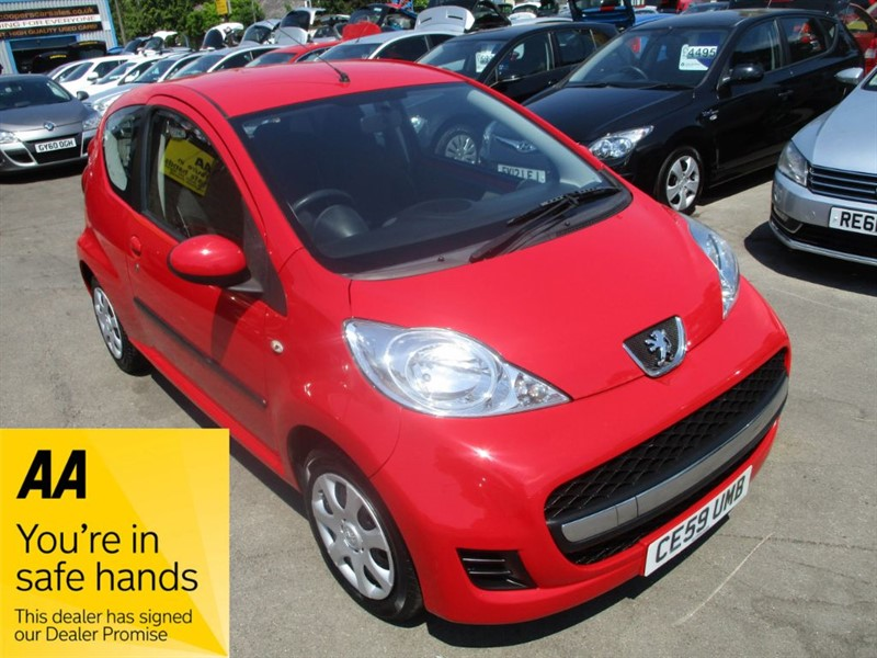 used Peugeot 107 URBAN in gwent